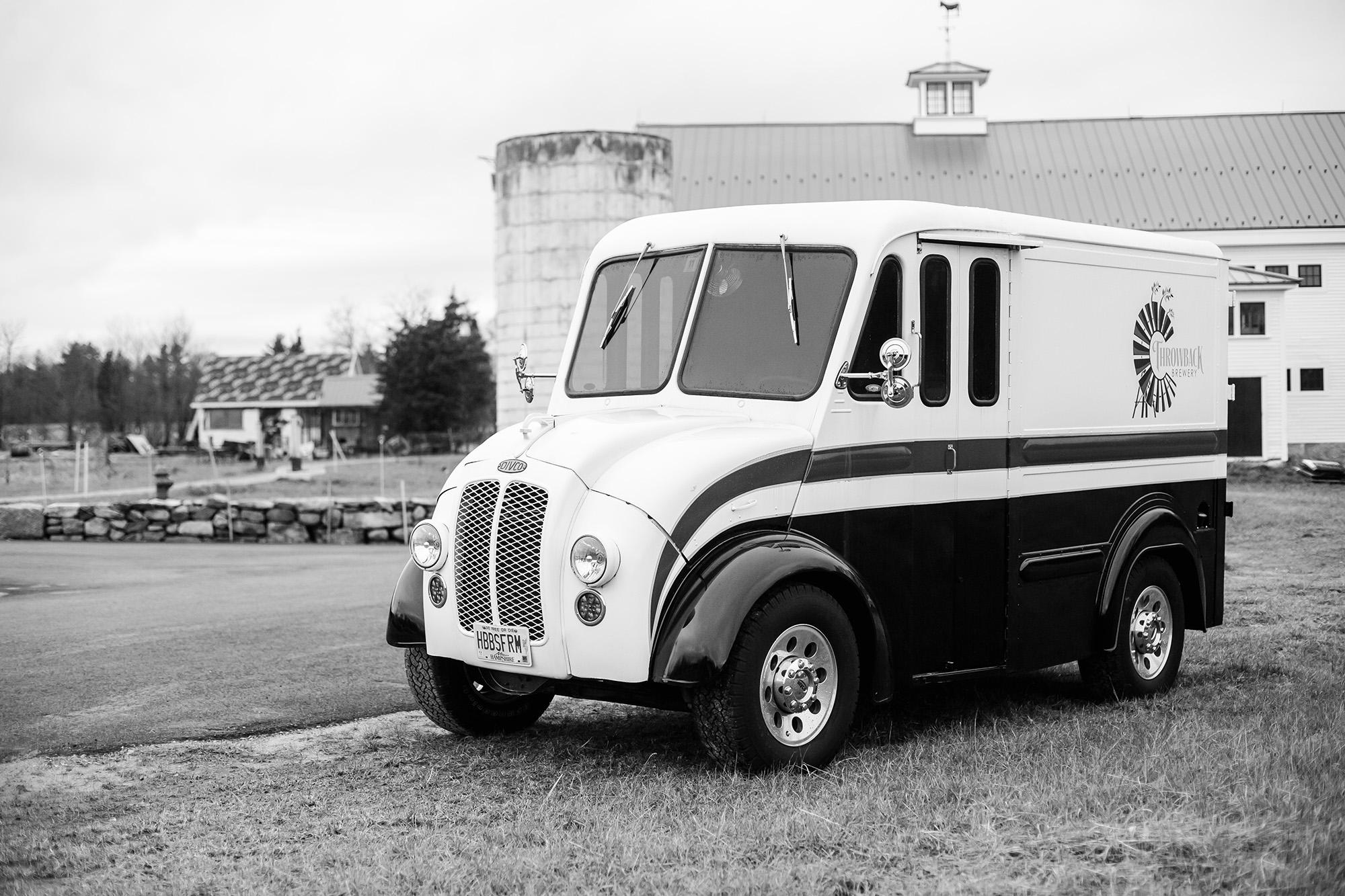 Vintage Beer Truck Throwback Brewery
